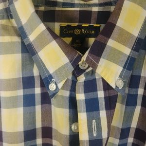 NWOT Club Room Button Down Shirt 33L x 25W